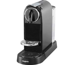NESPRESSO by Magimix CitiZ Coffee Machine - Limousine Black - £74.99 @ Currys C&C