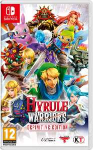 [Nintendo Switch] Hyrule Warriors - Definitive Edition £29.73 (£26.50 w/fee free card) delivered @ Amazon Italy