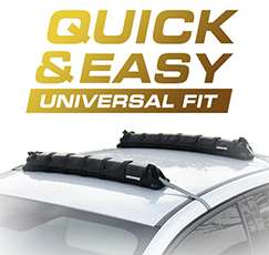 Universal Soft Car Roof Rack Luggage Bars-Tooled-Up £9.99 Delivered