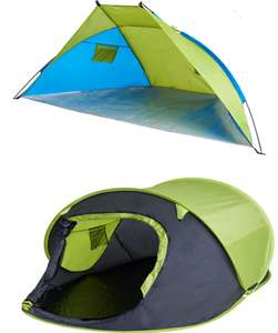 Yellowstone Beach Shelter - £7.50 // Fast Pitch Pop Up Tent - £15 (More in OP) @ Wilko (in-store or £2 C&C)