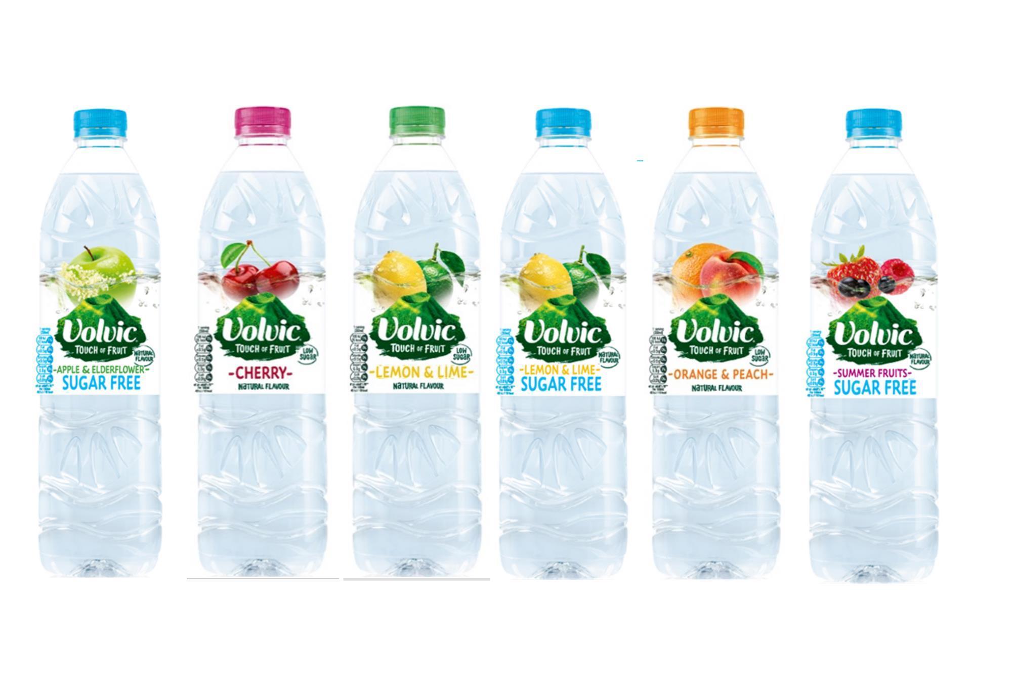 Volvic Touch of Fruit Sugar Free 1.5L - (Watermelon/Strawberry/Lemon & Lime/Apple & Elderflower/Summer Fruit) - 60p @ Asda