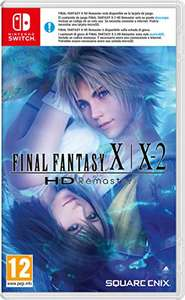 [Nintendo Switch] Final Fantasy X / X-2 HD Remaster £26.11 (£24.25 w/fee free card) delivered @ Amazon Spain