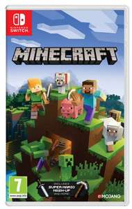 Nintendo Minecraft Switch at Base.com for £18.85