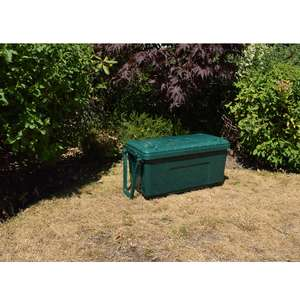 4 X Really Useful 18L Storage Trunk - Garden Green for £17.85 (£4.46 each) Free C&C with Code @ RobertDyas