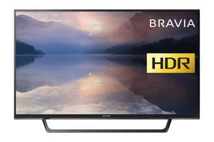 Sony Bravia KDL32RE403 32-Inch HD Ready HDR TV now £189 delivered using voucher at Amazon