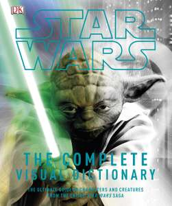 Star Wars The Complete Visual Dictionary Hardcover now £6.63 (Prime) + £2.99 (non Prime) at Amazon
