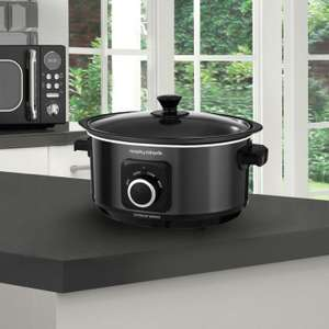 Morphy Richards Evoke 3.5L Sear and Stew Slow Cooker - Black at Argos Ebay for £27.99