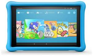 Amazon Fire HD 10 10.1 Inch 32GB 2GB 2MP Kids Edition Fire OS Tablet - Blue at Argos Ebay £144.99