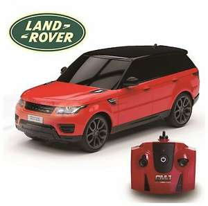 Range Rover Sport Remote Control Car 1:24 Red 2.4Ghz at Argos Ebay for £12