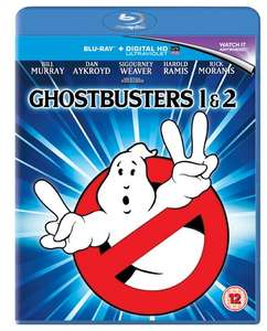Ghostbusters/Ghostbusters 2 [Blu-ray] now £4.56 delivered with code SIGNUP10 at Zoom