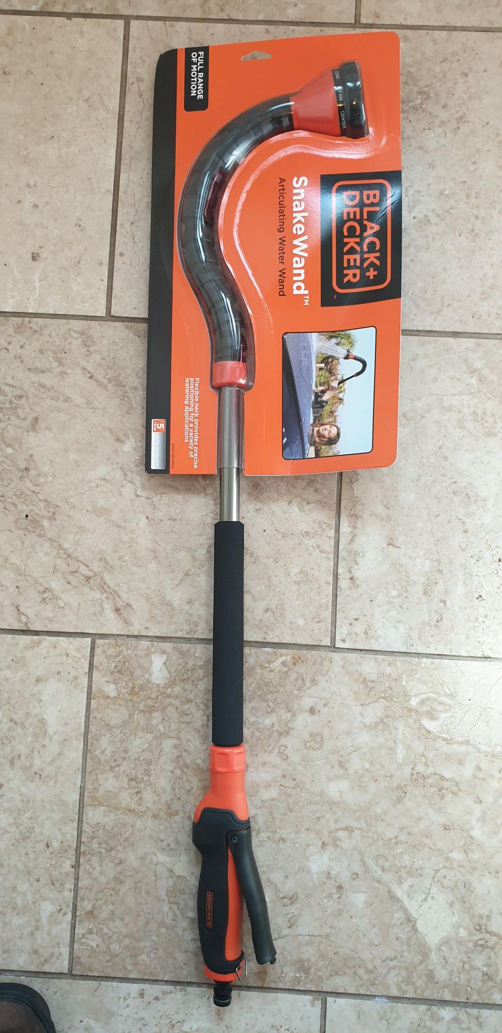 Black and decker articulated snake wand hose adapter £3.50 instore @ Homebase Sittingbourne
