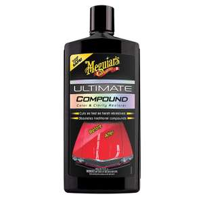 Meguiar's G17216EU Ultimate Compound Colour & Clarity Restorer 450ml @ Amazon only £9.66 (+£4.49 Non Prime)