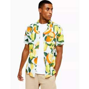 Lemon & Orange Print Shirt £5 from Topman Festival / Holiday £4 with student code plus free C&C to store
