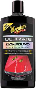 Meguiars Ultimate Compound 450ml £8.69 with code @ Halfords