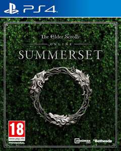The Elder Scrolls Online: Summerset for PS4 and xbox one £6.49 (+99p P&P) at Zavvi