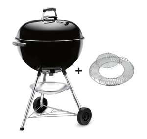 Weber Bar-B-Kettle® 47cm Charcoal Kettle Barbecue + Gourmet Barbecue System Grate £59.99 at Costco instore