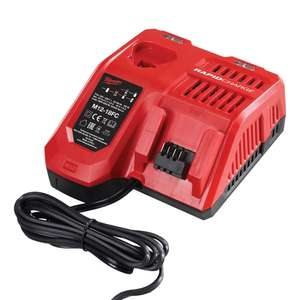 Milwaukee M12-18FC 240v Fast Multivoltage Charger £53.99 at ITS