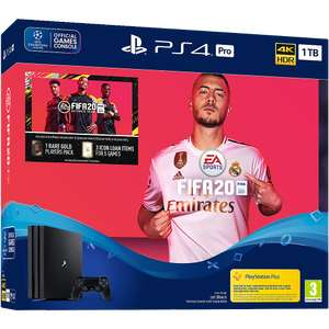 PS4 Pro 1TB console with Fifa 20 £349.99 @ Game