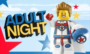 Child (at heart) night/evening tickets for Legoland ( £8 for Machester or £14 for Birmingham) - 18+ Only! No Kids! TEACHERS GO FREE!
