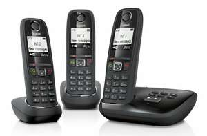 Gigaset AS405A Cordless Phone with Answering Machine (Pack of 3) £54.95 @ Sold by Total Digital Stores / FBA