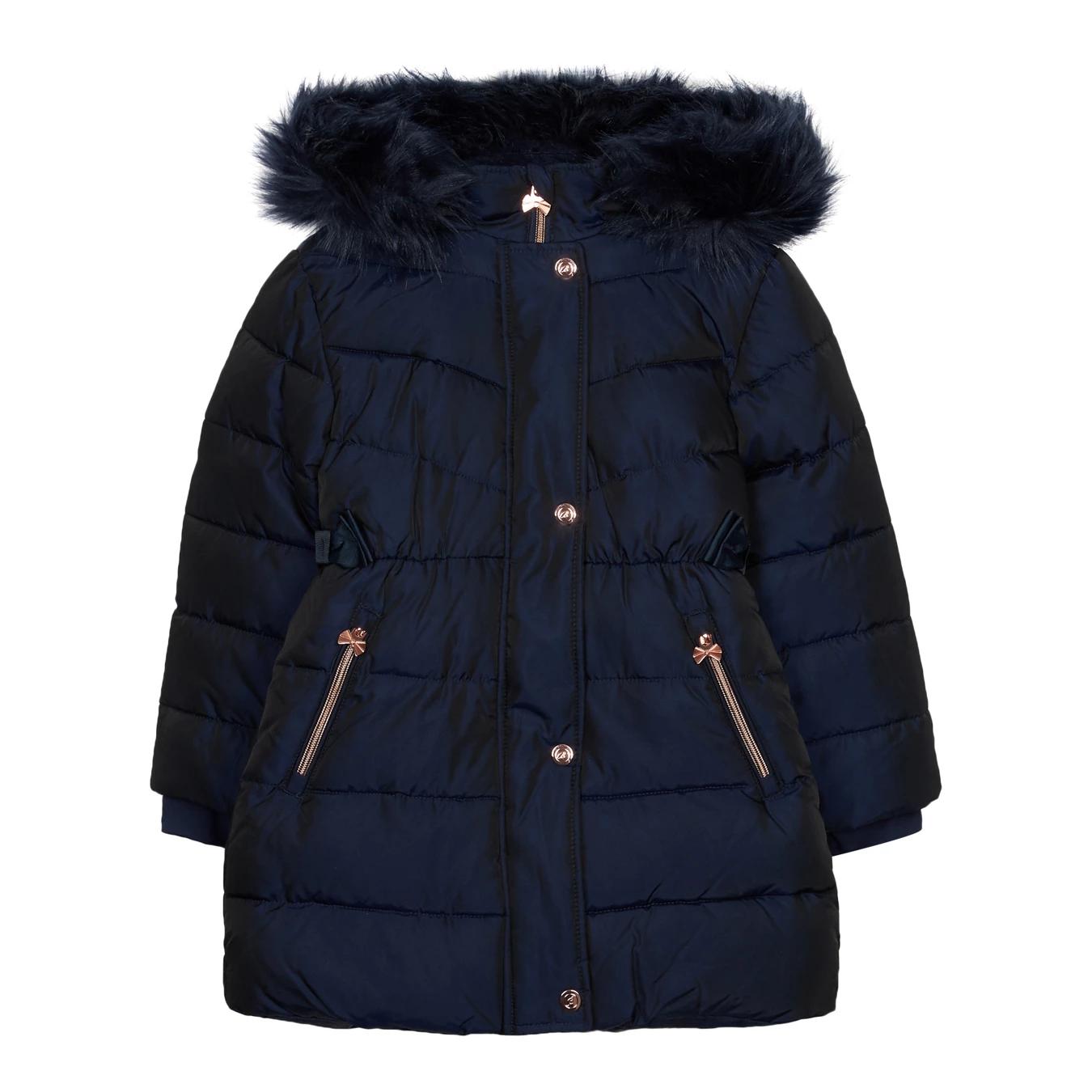 30% of school jackets/coats @ Debenhams e.g. Ted Baker Girls' Navy Padded Shower Resistant Coat from £45.50-£49