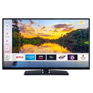 Digihome 55292UHDFVP 55'' 4K Ultra HD Smart LED TV with Freeview Play in Black £237.15 delivered with code  @ Hughes Direct eBay