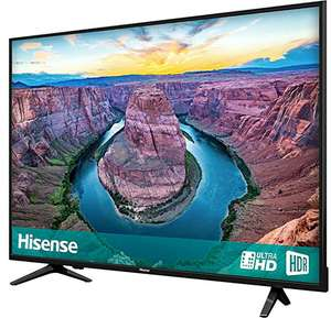 50 inch Hisense H50AE6100UK 4K HDR DLED Smart Television with Freeview Play - £279.65 with code @ cramptonandmoore eBay