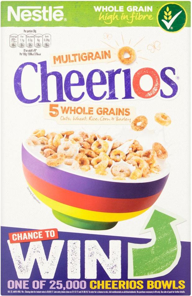 Nestle Cheerios (600g) £2 @ Sainsbury's