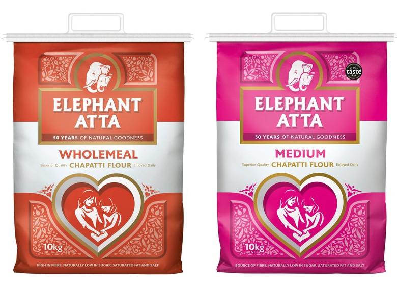 Elephant Atta Chapatti Flour Wholemeal or Medium 10Kg for £5 @ Tesco (from 28/08)