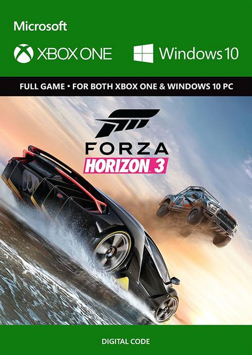 Forza Horizon 3 (Xbox One / PC Digital Code Play Anywhere) £11.99 @ CDKeys