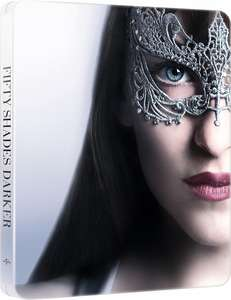 Fifty Shades Darker Extended Edition Blu-Ray LIMITED EDITION STEELBOOK £11.25 Delivered @ Amazon Italy