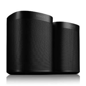 Sonos one Gen 2 bundle of 2 with free Philips Hue Mini Starter Kit £372.33 at Smart home sounds