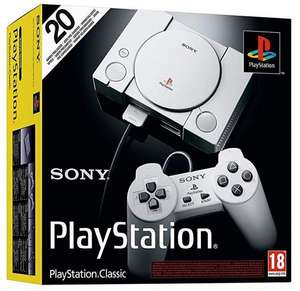PlayStation Classic Console £16.99 delivered @ go2games