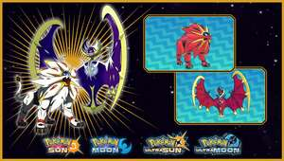 FREE Shiny Lunala or Shiny Solgaleo - For Pokémon Ultra Sun / Moon