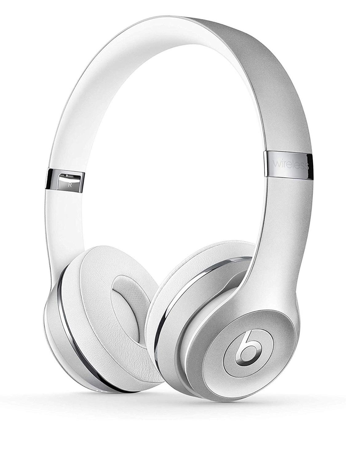 Beats Solo3 Wireless On-Ear Headphones - Silver - £129.95 @ Amazon