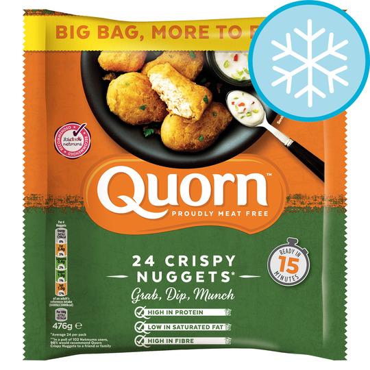 Quorn Meat Free Crispy Nuggets 476g (Big Pack) £1.50 @ Asda