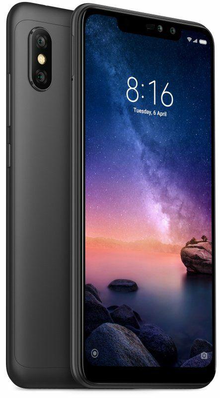 """Xiaomi Redmi Note 6 Pro 6.26"""" 3GB 32GB Dual Sim Smartphone - Black £119.99 @ Ebuyer"""