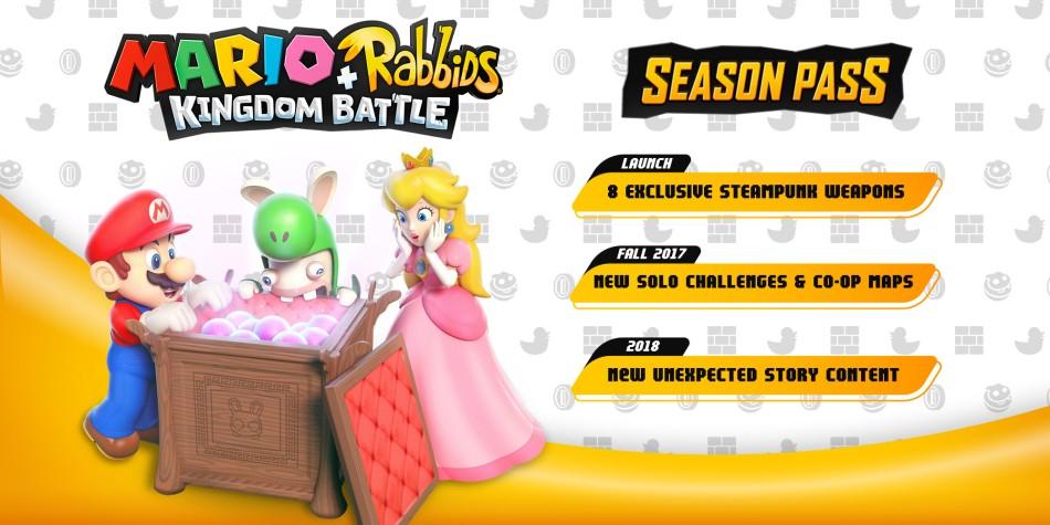 Mario + Rabbids Kingdom Battle Season Pass £9.59 @ Nintendo Switch eShop