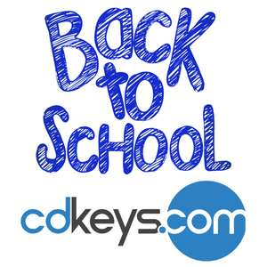 CDKeys 'Back to School' Sale - Reductions on PC, PlayStation 4 and Xbox One games