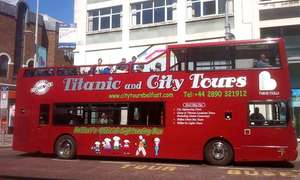 Belfast Open-Top Bus Sightseeing Tour £7.25 per adult via @ Groupon