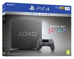 PS4 1TB Limited Edition Days Of Play Console with Spiderman game £259.85 @ ShopTo