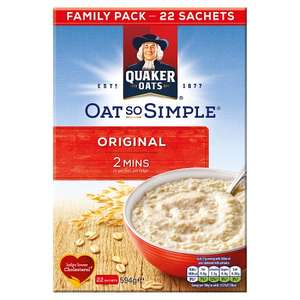 Quaker Oat So Simple 50p at Asda instore