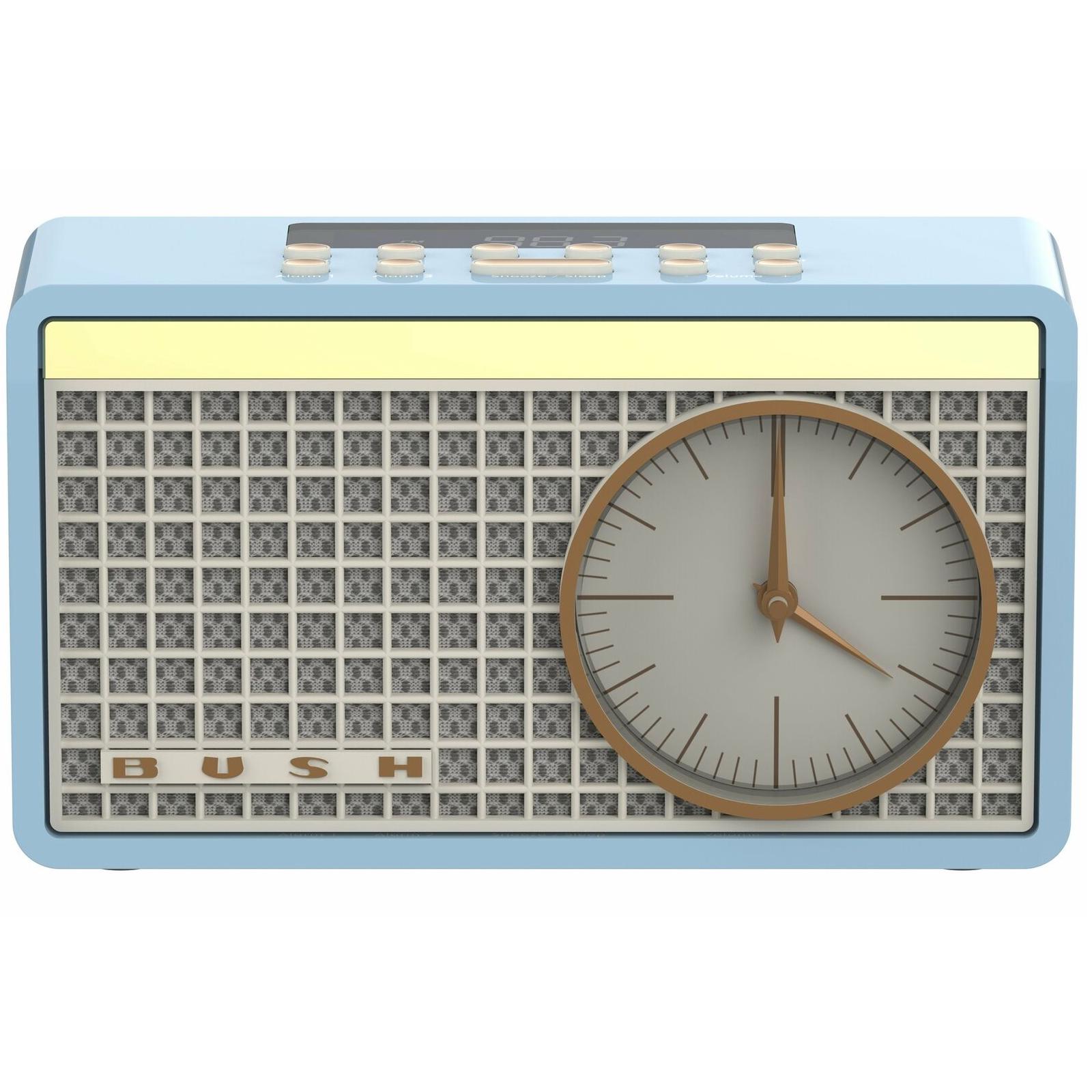 Bush Classic Retro Analogue Clock Radio - Blue/New £4.99 @ Argos / eBay (Free C&C)