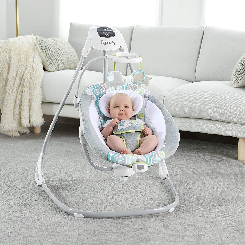 Ingenuity™ SimpleComfort Cradling Swing - Everston £59.99 Delivered @ Amazon