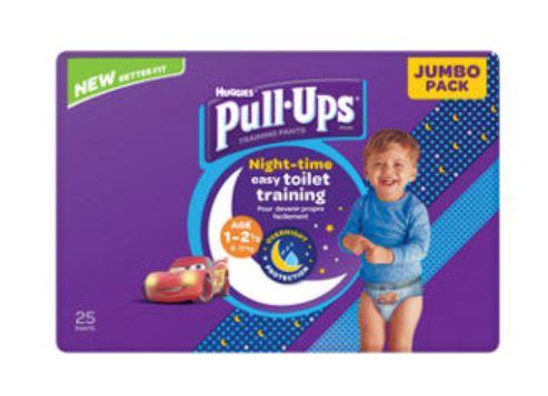 Huggies Pull ups Night time Potty Training Pants Boys/Girls £4.25 at Asda