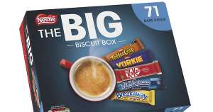 Nestle Big Biscuit Box - 71 Chocolate Bars - £10 or £8 Trade - Instore @ Costco