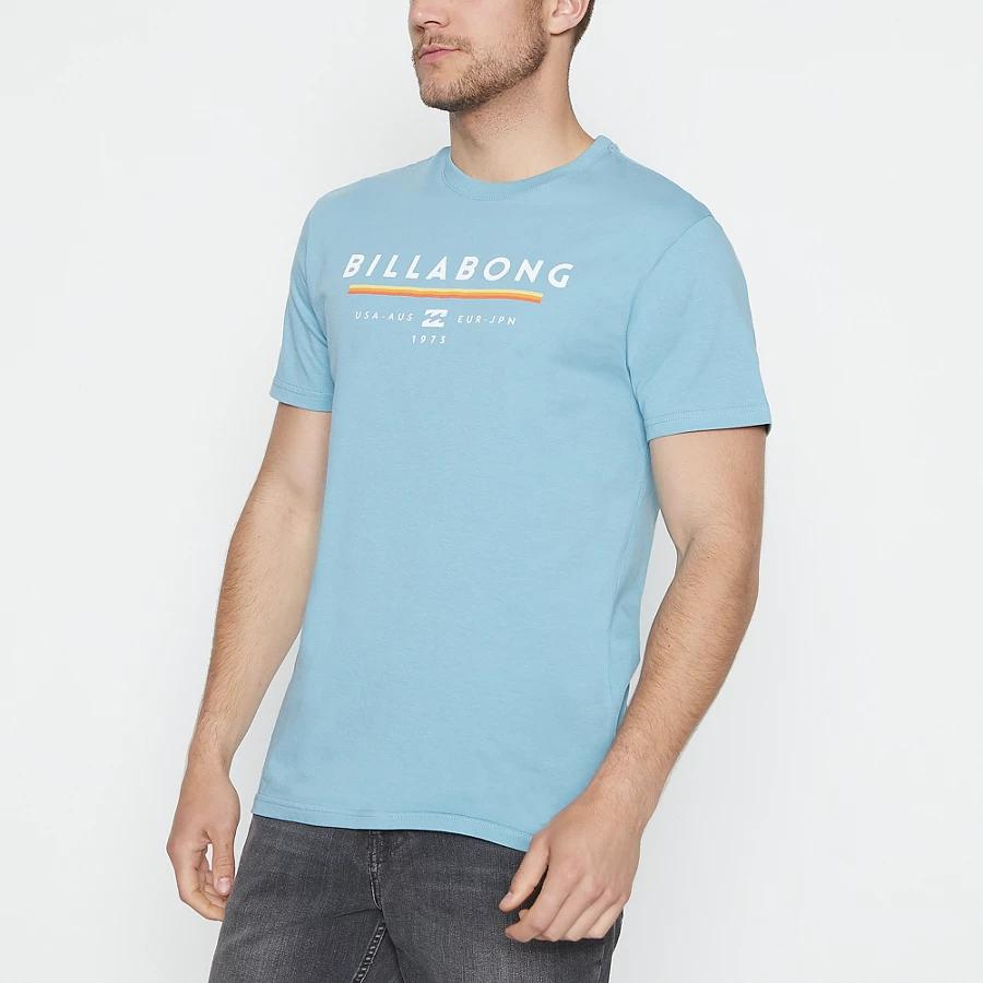 Billabong Mens Aqua 'Unity' Cotton T-Shirt - £10 @ Debenhams - free click & collect to store