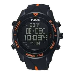 Pulsar Mens Pulsar Alarm Chronograph LCD Watch PQ2037X1 for £24.99 Delivered @ 7Dayshop