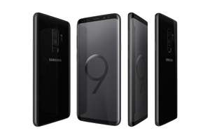 Refurbished Samsung Galaxy S9+ Midnight Mobile Phone - SM-G965F/DS - 64GB with a 1 Year Guarantee - £269.99 at ITZOO