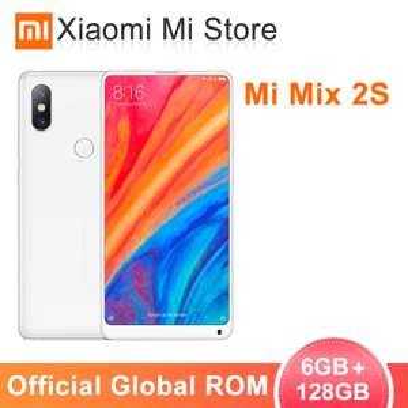 """Global ROM Xiaomi Mi Mix 2S 6GB 128GB Snapdragon 845 5.99"""" Full Screen 12MP Dual Cameras  Wireless charging @ xiaomi mi store/aliexpress"""